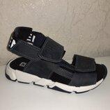 Кожаные босоножки на мальчика 31-39 р Santegros, черные, сантегрос, сандалии, сандали, босоніжки