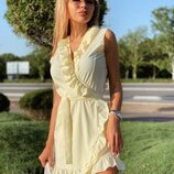Платье ламбада без рукава Ткань софт