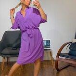 Шикарное платье-кимоно 2 цвета