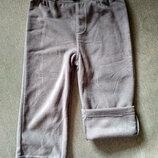 Детские флисовые штаны брюки Carter's картерс , сша, размер 24М, на 1-2 года