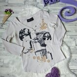Реглан кофта MNG jeans женская бежевая с принтом