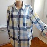 блузка батистовая модная р22 батал
