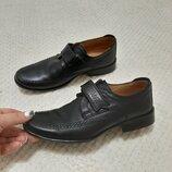 Кожаные мокасины, туфли tiflani р. 33-34 22,5 см турция