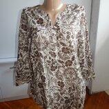 блузка батистовая лёгкая модная р14