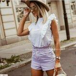 блузка Ткань прошва натуральная Цвет белый
