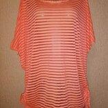 Яркая, красивая женская футболка, блузка, топ 16 размера Izabel London