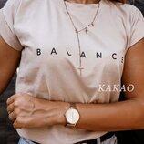 Женская футболка качественная, стильная, Balance