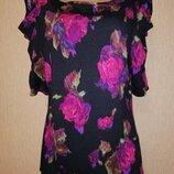 Красивая, новая женская трикотажная кофта, блузка 16 размера George