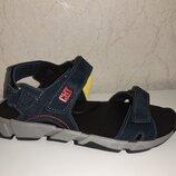 Кожаные босоножки на мальчика 37-39 р Santegros, синие, сантегрос, сандалии, сандали, босоніжки