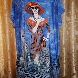 Красивая, яркая женская футболка, блузка Out of Gas