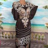 Красивое летнее платье 50-54р