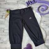 Спортивные бриджи Adidas женские синие