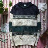 Шикарный свитер ретро винтаж C&A размер L