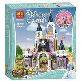 Конструктор Bela 10892 Принцессы Замок мечты Золушки аналог Lego Disney Princess 41154