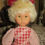 Кукла Ссср 65 см Лида Донецк В раритетной одежде.
