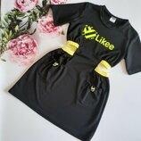 Платье, рост 134, 140, 146, 152 см, арт.ML-022-0524/likee-G