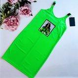 Платье, рост 152-158 см, арт.ML-022-0514/Billie Eilish-G