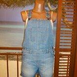 11-13лет джинсовый комбинезон ромпер george