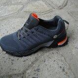 подростковые кроссовки 36-41р серые