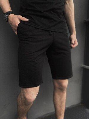 Мужские шорты трикотажные Intruder LaCosta черные