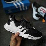 AD092 Кроссовки мужские Adidas NMD R1 V2 Core Black