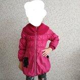 Демисезонное турецкое пальто на девочку, рост 128см