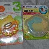 грызунки прорезыватели погремушки Richell Combi Япония