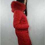 Куртка Зима Р-Ры 44 46 48 50 52 54 56 Вашему вниманию представлена зимняя удлиненная куртка п