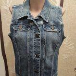 Mbj джинсовая жилетка