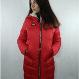 Куртка Зима Р-Ры 44 46 48 50 52 54 56 Вашему вниманию представлена зимняя удлиненная куртка по