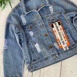 Новиночки Классная джинсовка , размеры 42- 48