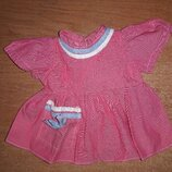 Платье для куклы Ссср