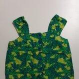 Фирменная полульняная блуза майка XXL