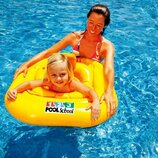Надувной круг Intex 56587, Учимся плавать, 79 х 79 см с трусиками
