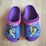 Grocs Кроксы для девочки Dora размер 12-13