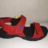 Замшевые босоножки 32-39 р Santegros, сантегрос, сандалии, сандали, кожаные, красные