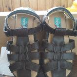 Босоножки, сандалии кожаные новые Scott David, мальчику, размер US 9, EUR 27, 17 см