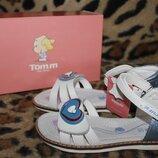 Детские кожаные босоножки для девочки Том.м р.27-32
