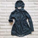 Young Dimension стильная куртка- дождевик на девочку 11-12 лет