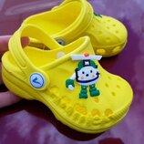 Кроксы vitalia yellow robot 20-35р., 13