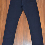 Синие котоновые брюки для мальчиков, школа , Тм Taurus, Венгрия, 146-176 рр
