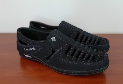 Босоножки сандалии туфли мужские летние черные прошитые - босоніжки сандалі туфлі чоловічі чорні