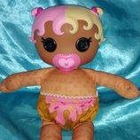 шикарная кукла младенец Лалалупси Lalaloopsy Babies Вафельный рожок MGA Сша оригинал клеймо 30 см