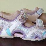 Босоножки, сандалии Geox 32р 19,5см по кожаной стельке
