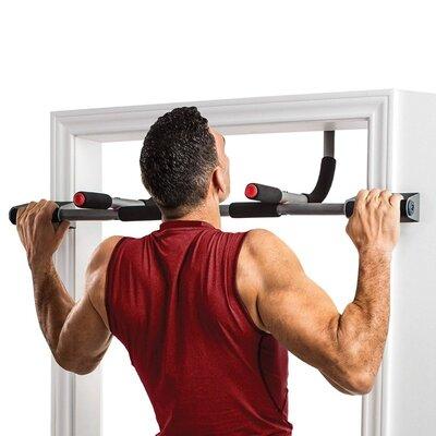 Турник-Тренажер многофункциональный Springos Iron Gym черный