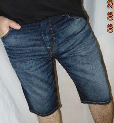 Брендовие катоновие джинсовие стильние шорти капри Germany.TOM TAILOR.л-хл
