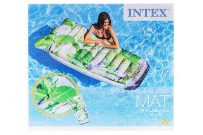 Надувной матрас Intex 58778 Мохито размером 178х91 см, с подстаканником.