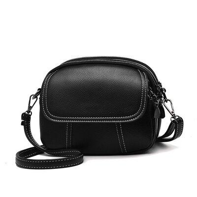 Мини сумка через плечо. Маленькая женская сумочка, клатч на 3 отдела. Видеообзор Кс96