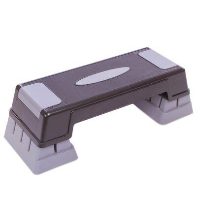 Степ платформа 1575 пластик покрытие TPR, размер 70x28x12-22см