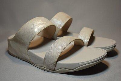 Шлепанцы Fitflop Lulu Slide сандалии босоножки женские кожаные. Оригинал. 42 р.